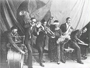 ma rainey and her Georgia Band.